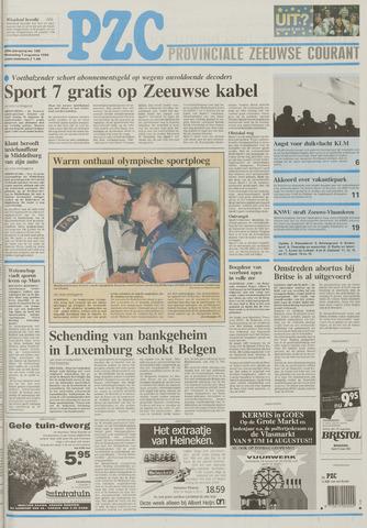Provinciale Zeeuwse Courant 1996-08-07