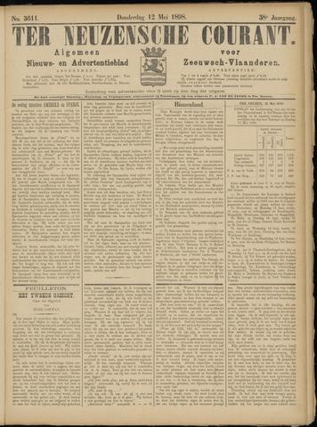 Ter Neuzensche Courant. Algemeen Nieuws- en Advertentieblad voor Zeeuwsch-Vlaanderen / Neuzensche Courant ... (idem) / (Algemeen) nieuws en advertentieblad voor Zeeuwsch-Vlaanderen 1898-05-12