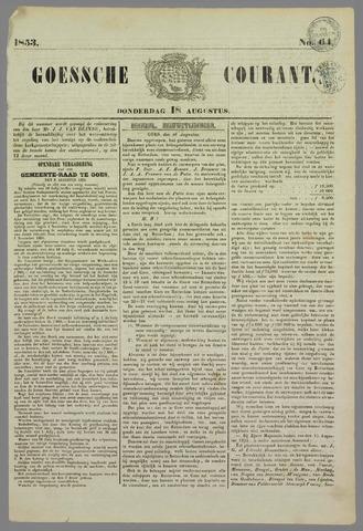 Goessche Courant 1853-08-18