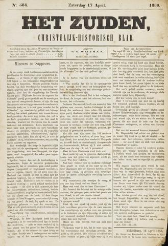 Het Zuiden, Christelijk-historisch blad 1880-04-17