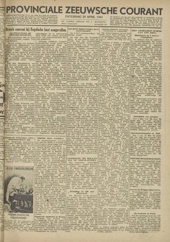 Provinciale Zeeuwse Courant 1944-04-29
