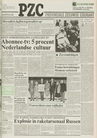 Provinciale Zeeuwse Courant 1984-06-23