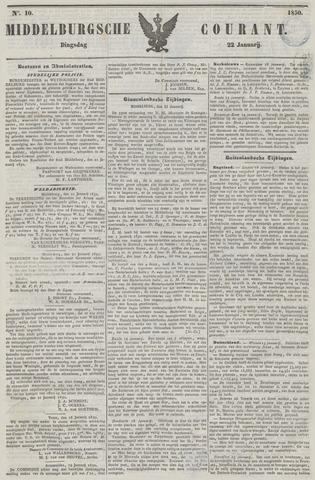 Middelburgsche Courant 1850-01-22