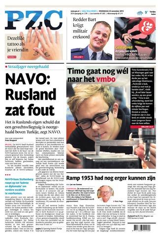 Provinciale Zeeuwse Courant 2015-11-25