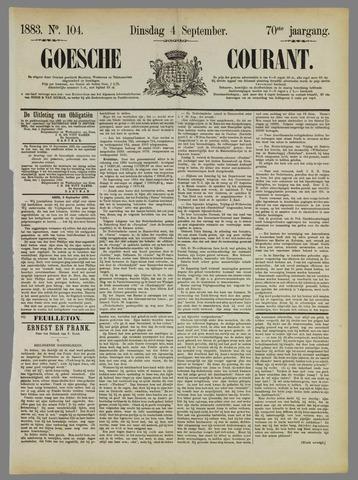 Goessche Courant 1883-09-04