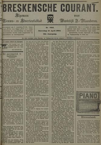 Breskensche Courant 1914-04-11