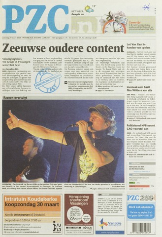 Provinciale Zeeuwse Courant 2008-03-29