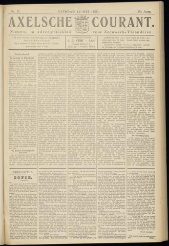 Axelsche Courant 1931-05-12