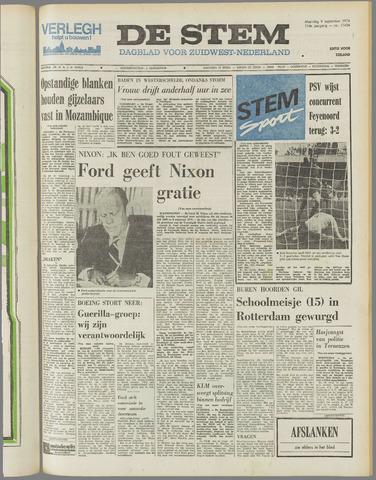 de Stem 1974-09-09