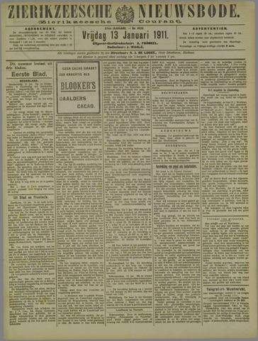 Zierikzeesche Nieuwsbode 1911-01-13