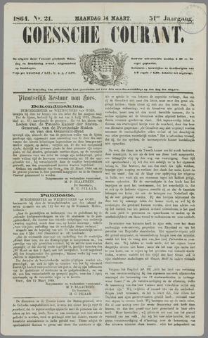 Goessche Courant 1864-03-14