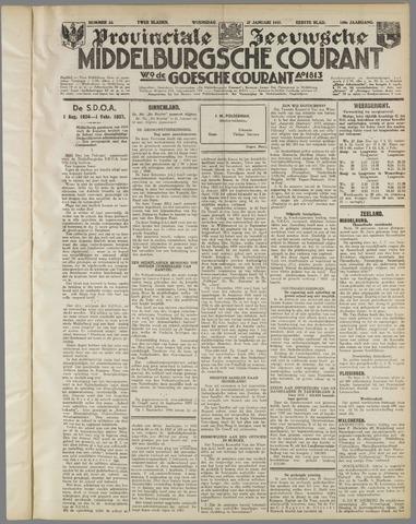 Middelburgsche Courant 1937-01-27