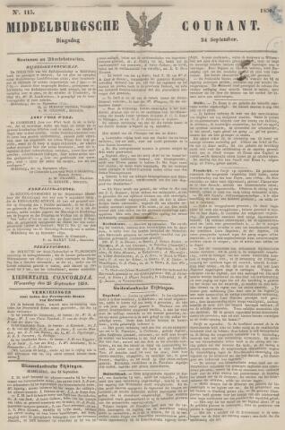 Middelburgsche Courant 1850-09-24