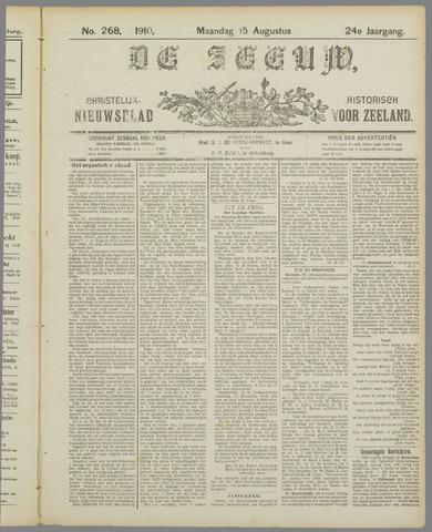 De Zeeuw. Christelijk-historisch nieuwsblad voor Zeeland 1910-08-15
