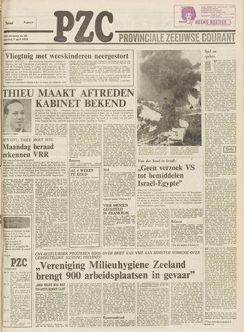 Provinciale Zeeuwse Courant 1975-04-05