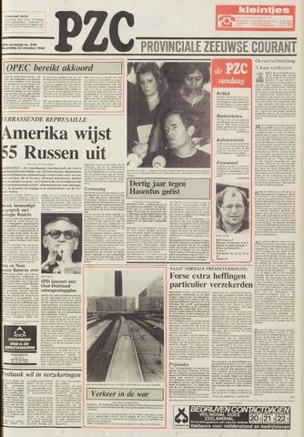 Provinciale Zeeuwse Courant 1986-10-22