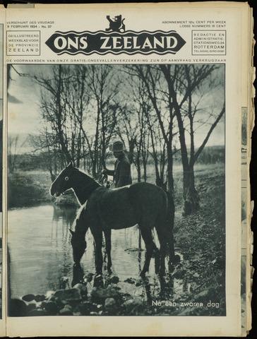 Ons Zeeland / Zeeuwsche editie 1934-02-09