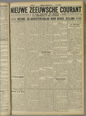 Nieuwe Zeeuwsche Courant 1927-08-23