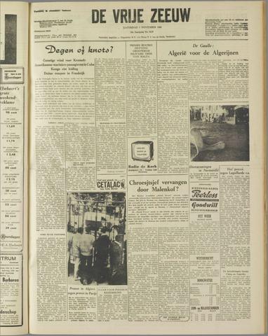de Vrije Zeeuw 1960-11-05