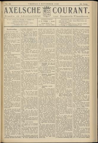 Axelsche Courant 1929-11-08