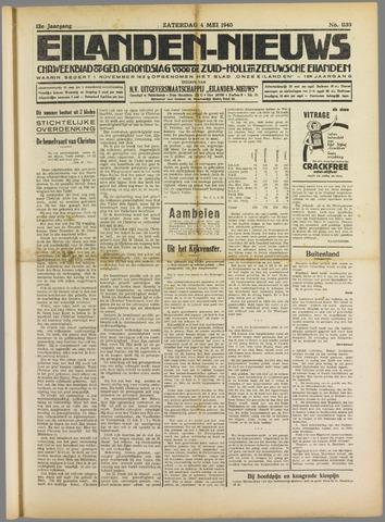Eilanden-nieuws. Christelijk streekblad op gereformeerde grondslag 1940-05-04
