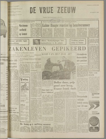 de Vrije Zeeuw 1974-01-22