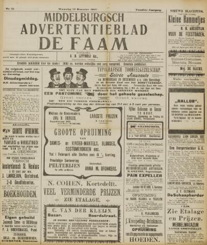 de Faam en de Faam/de Vlissinger 1907-12-18