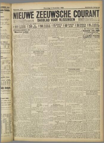 Nieuwe Zeeuwsche Courant 1922-11-06