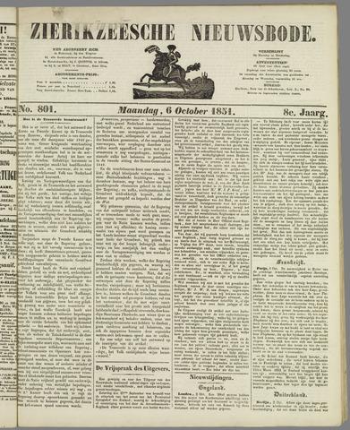 Zierikzeesche Nieuwsbode 1851-10-06