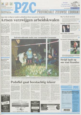 Provinciale Zeeuwse Courant 2001-11-23