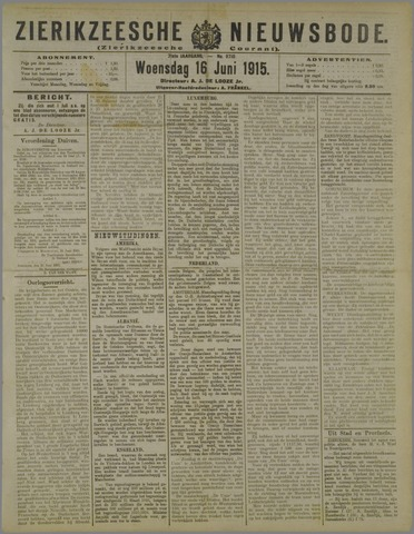 Zierikzeesche Nieuwsbode 1915-06-16
