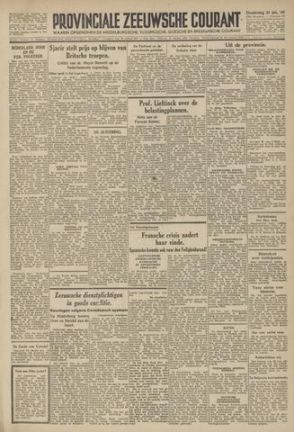 Provinciale Zeeuwse Courant 1946-01-24
