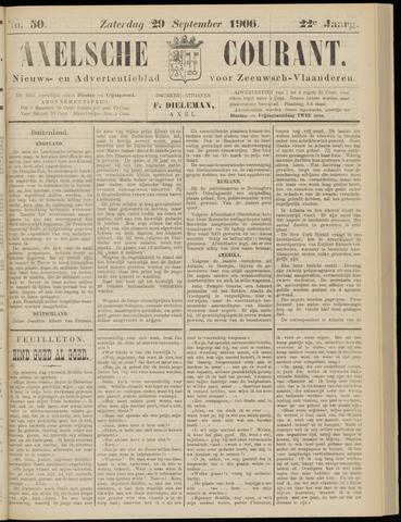 Axelsche Courant 1906-09-29
