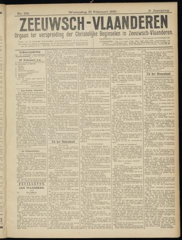 Luctor et Emergo. Antirevolutionair nieuws- en advertentieblad voor Zeeland / Zeeuwsch-Vlaanderen. Orgaan ter verspreiding van de christelijke beginselen in Zeeuwsch-Vlaanderen 1920-02-25