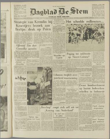de Stem 1958-07-09