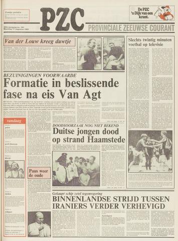 Provinciale Zeeuwse Courant 1981-08-17