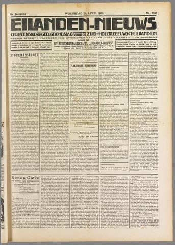 Eilanden-nieuws. Christelijk streekblad op gereformeerde grondslag 1939-04-26