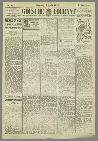 Goessche Courant 1927-04-04