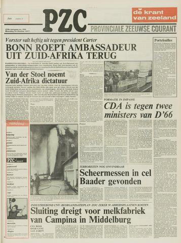 Provinciale Zeeuwse Courant 1977-10-24