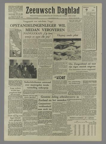 Zeeuwsch Dagblad 1958-04-09