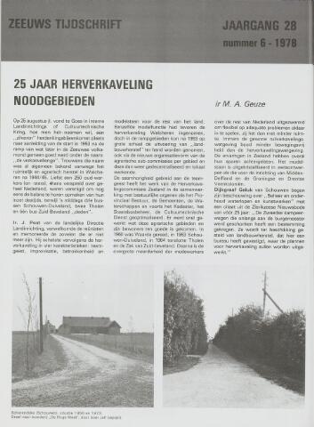 Zeeuws Tijdschrift 1978-11-01