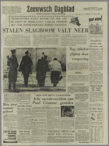 Zeeuwsch Dagblad 1961-08-14