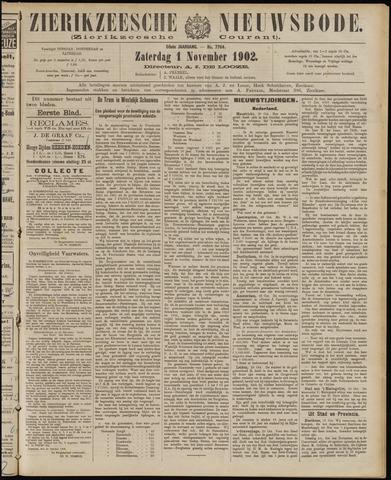 Zierikzeesche Nieuwsbode 1902-11-01