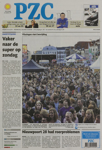 Provinciale Zeeuwse Courant 2011-05-06
