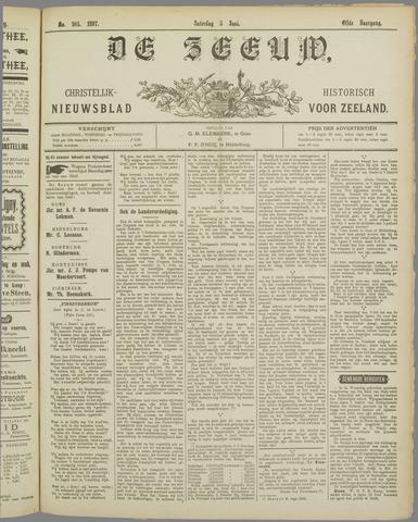 De Zeeuw. Christelijk-historisch nieuwsblad voor Zeeland 1897-06-05