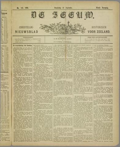 De Zeeuw. Christelijk-historisch nieuwsblad voor Zeeland 1896-09-10