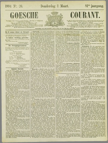 Goessche Courant 1894-03-01