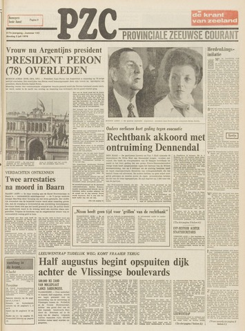 Provinciale Zeeuwse Courant 1974-07-02