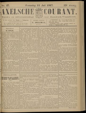Axelsche Courant 1917-07-11