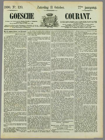 Goessche Courant 1890-10-11